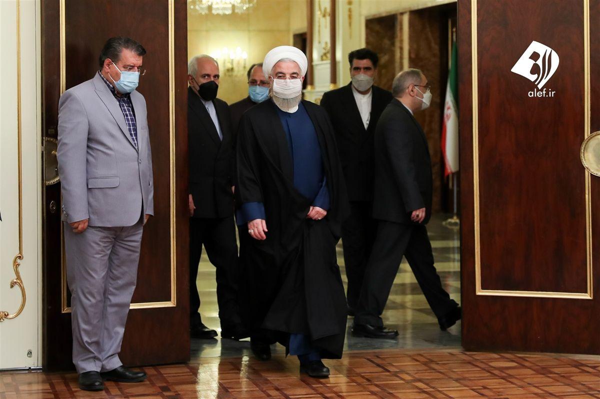 تصاویر منتشر شده از دیدار وزیر امور خارجه روسیه با روحانی