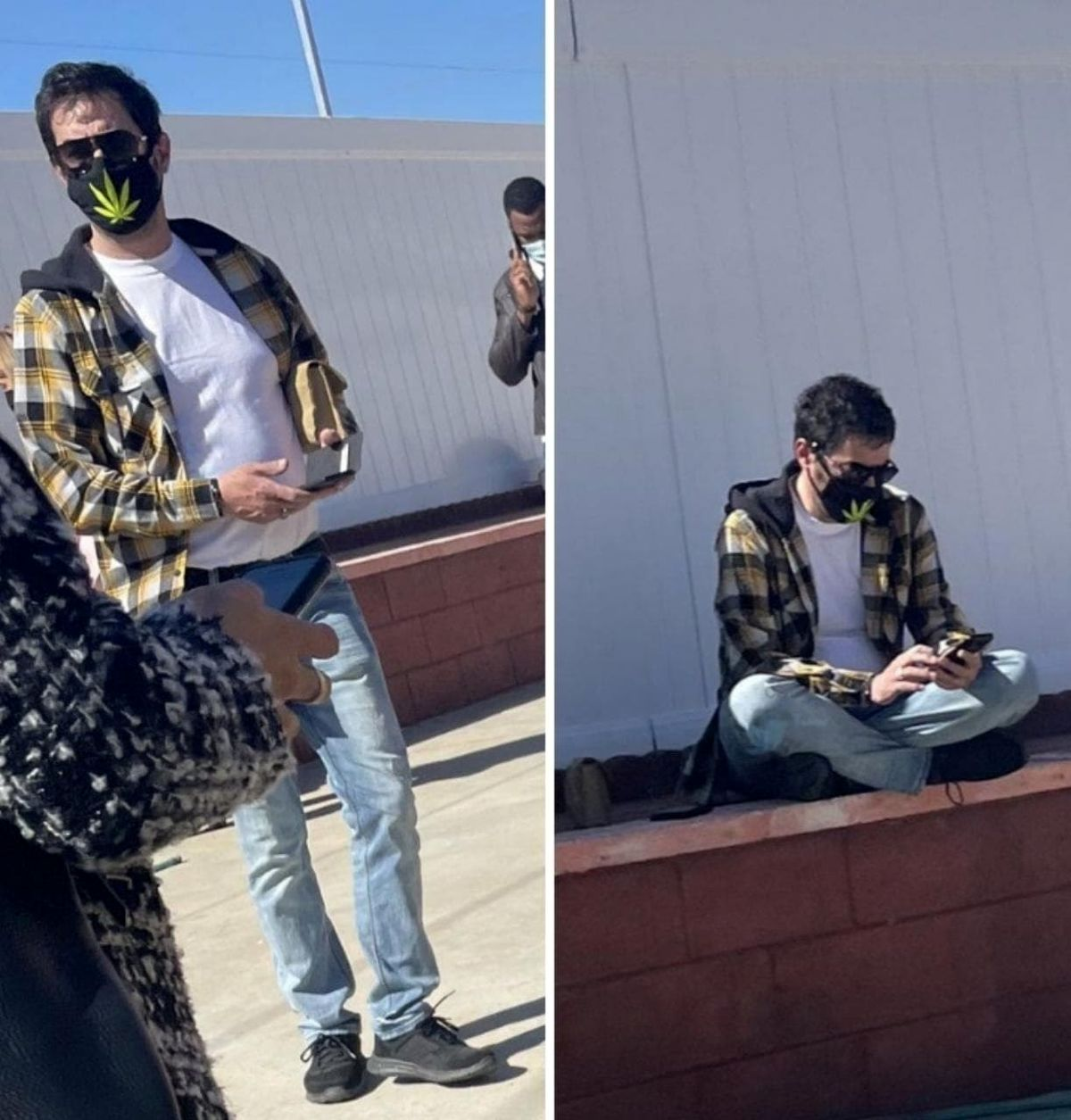 واکسن زدن شهاب حسینی در آمریکا واقعیت دارد!؟+عکس
