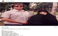 نمایی از بازیگر معروف به همراه مادر مرحومش/عکس