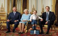 عکس یادگاری 90 سالگی ملکه الیزابت