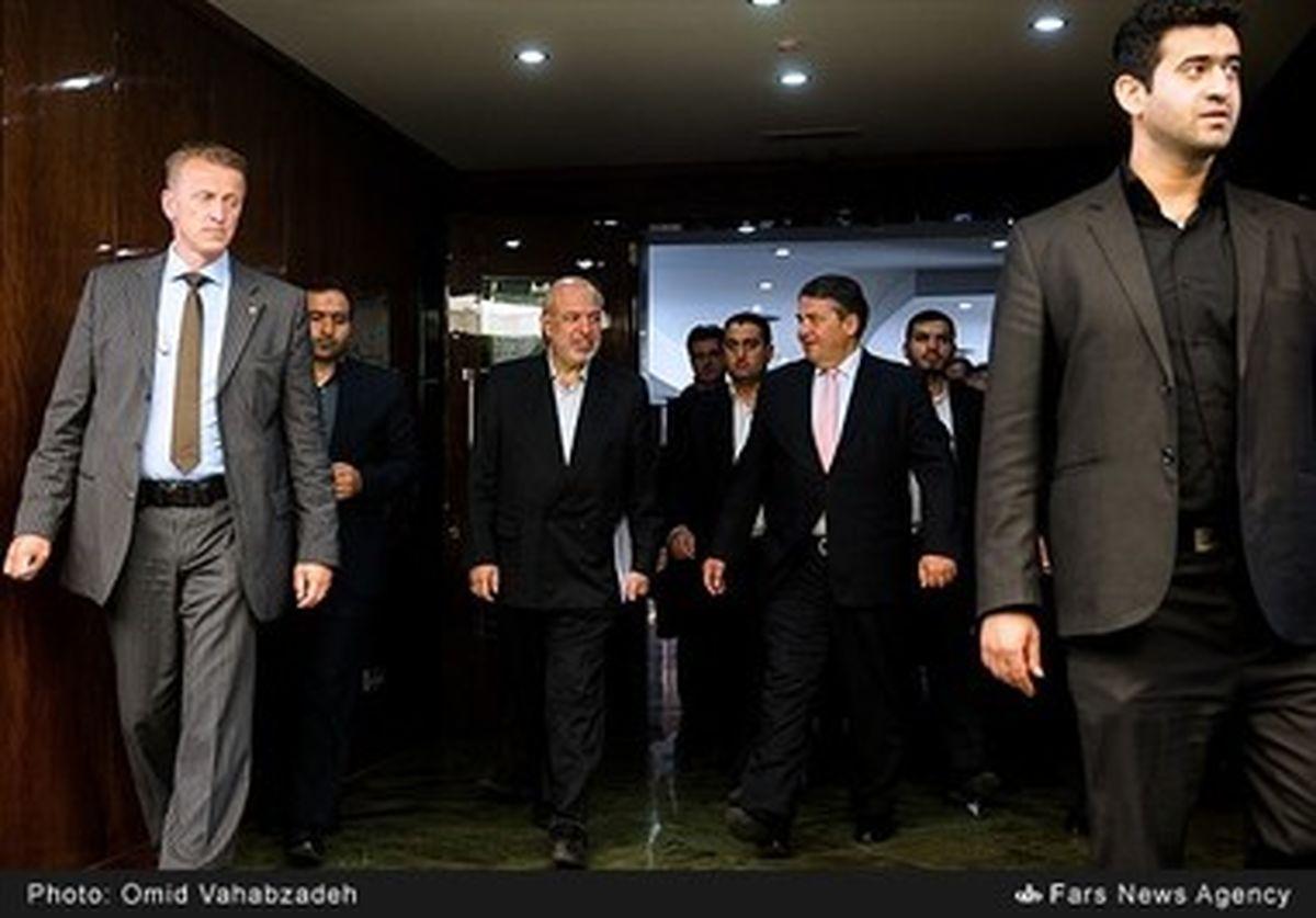 دیدار معاون صدراعظم آلمانی با وزیر نیرو/تصاویر