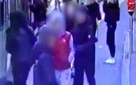 نجات معجزه آسای زن جوان در ایستگاه مترو + عکس