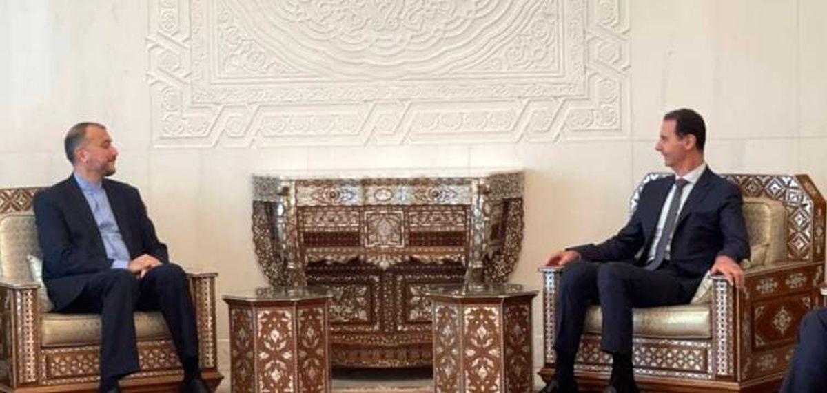 توصیه بشار اسد به تهران