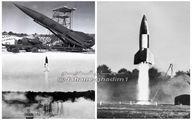 تصاویری دیده نشده از اولین موشک بالستیک جهان