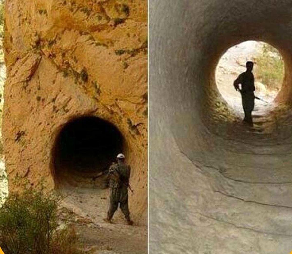 کشف غار ضحاک هیولای پلید در کردستان عراق عکس