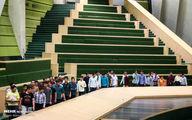 صف دانش آموزی در مجلس!