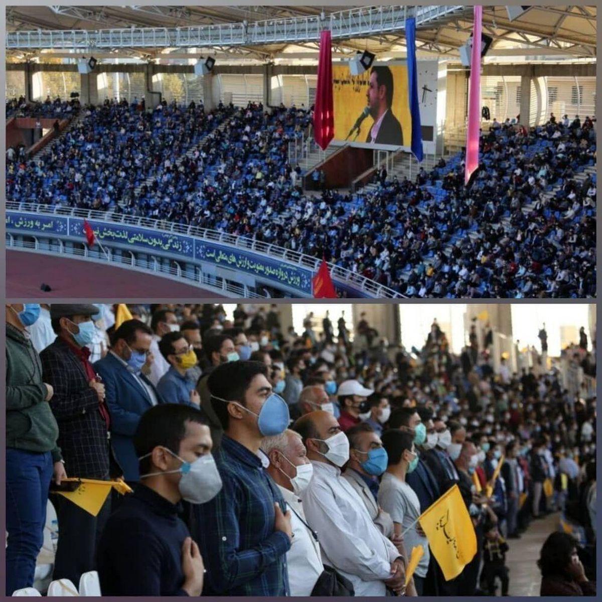 انتقاد تند مهاجری از برگزاری همایش در مشهد؛ آقای علمالهدی کجا تشریف دارند؟ + عکس