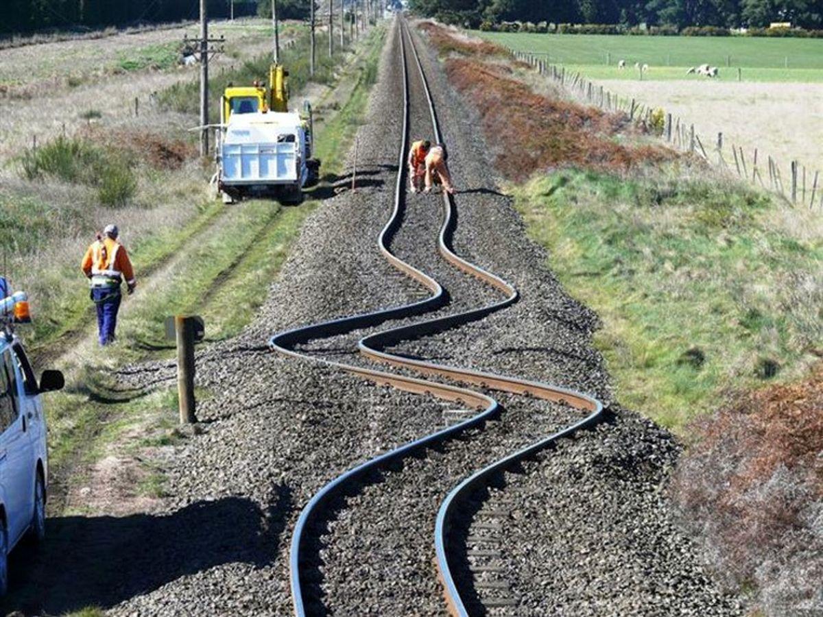 عکسی عجیب از جابجا شدن لایههای زیرین زمین در نیوزیلند!