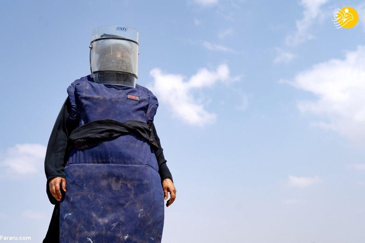 تصاویر دیده نشده از اولین زن مینروب در یمن