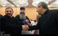 حاشیههای دیدار جنتی و یونسی با نمایندگان ادیان توحیدی/ تصاویر