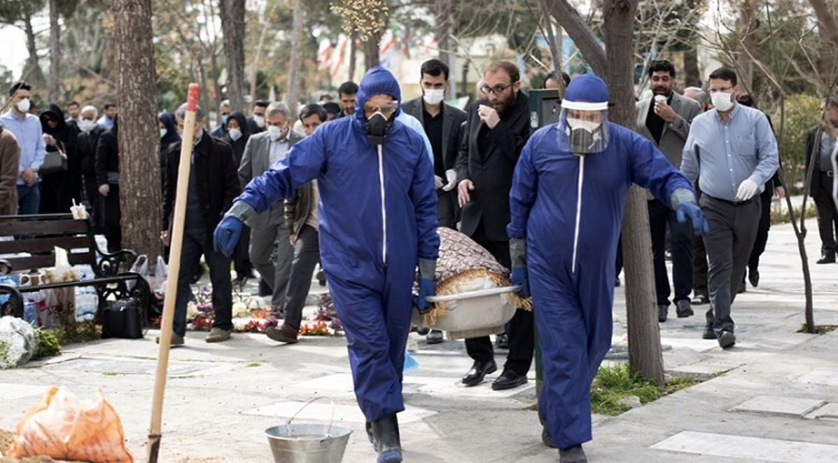 آخرین آمار کشته های کرونا در ایران امروز + اینفوگرافیک