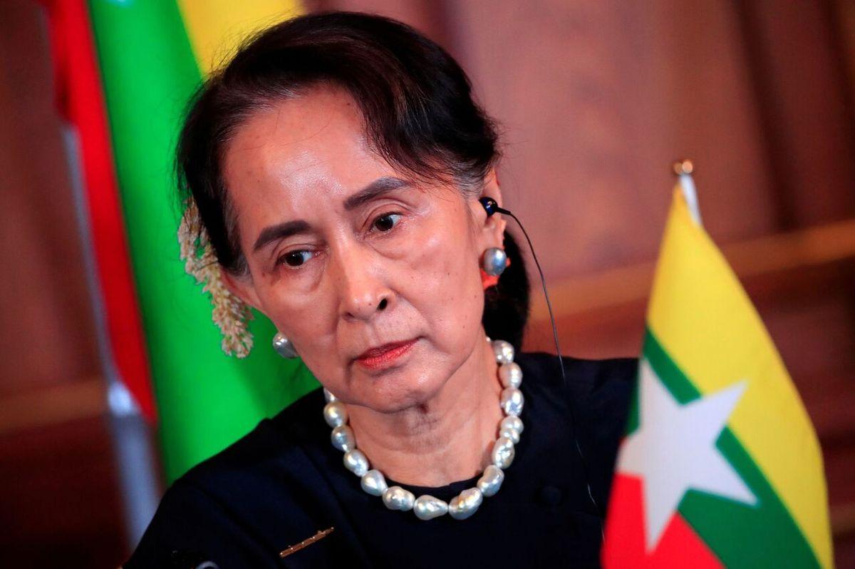 محاکمه رهبر میانمار پس از کودتای نظامی