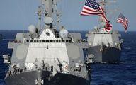 ادعای آمریکا:رویارویی شناور سپاه با کشتی آمریکایی! + فیلم