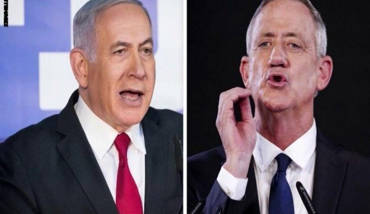 گانتز پیشنهاد نتانیاهو برای ائتلاف و تشکیل کابینه را رد کرد