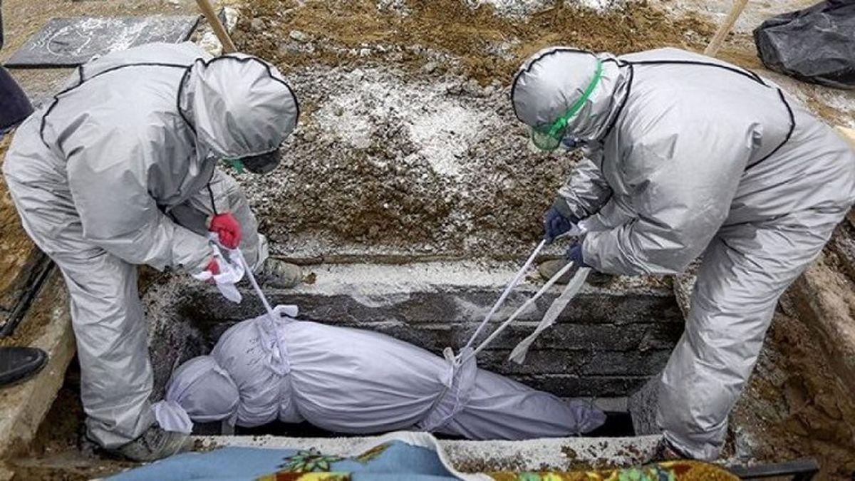 آمار فوت شدگان کرونا امروز در ایران + اینفوگرافی