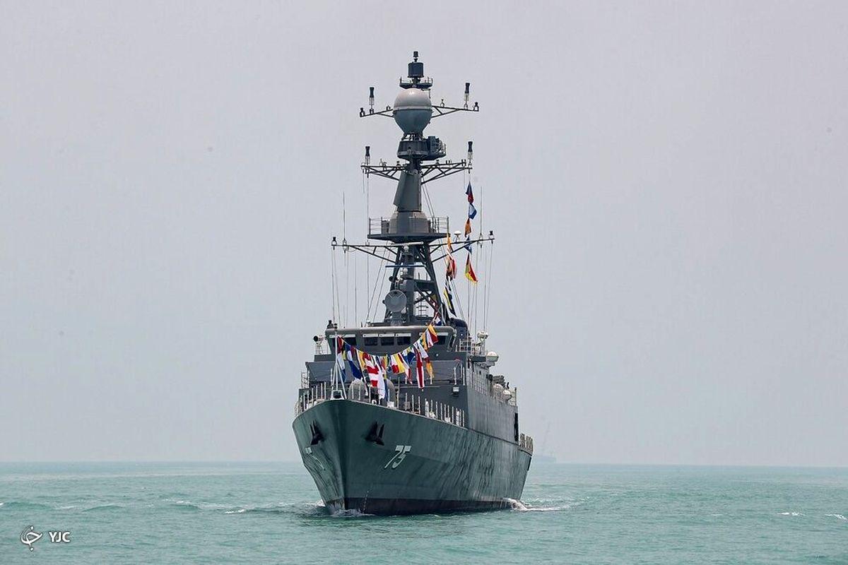 حضور ایران در رژه دریایی روسیه