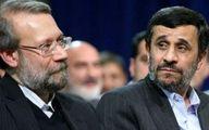 روایتی از دعوای لاریجانی و احمدینژاد در یکشنبه سیاه مجلس