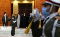 گزارش تصویری رئیس جمهور منتخب در حرم امام(ره)