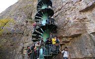 ترسناک ترین پلکان دنیا؛ورود فقط افراد زیر 60 سال سن