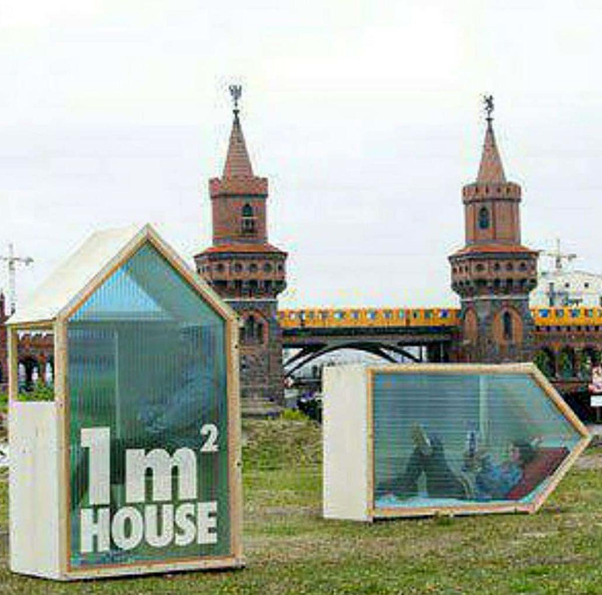کوچکترین خانه های دنیا به مساحت تنها یک متر مربع