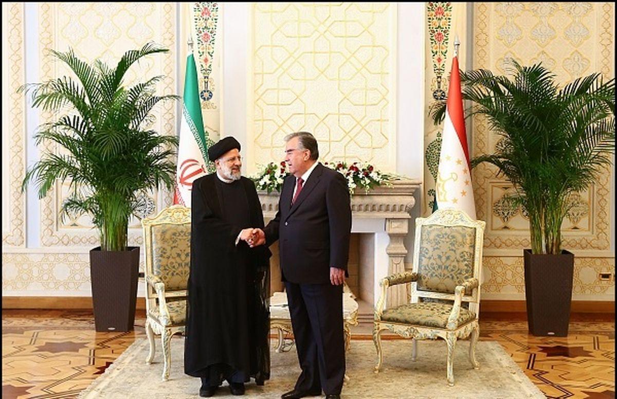 در دیدار رئیس جمهور ایران و رئیس جمهور تاجیکستان چه گذشت