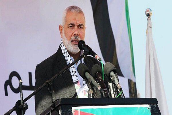 پیام اسماعیل هنیه به سران جهان عرب و اسلام