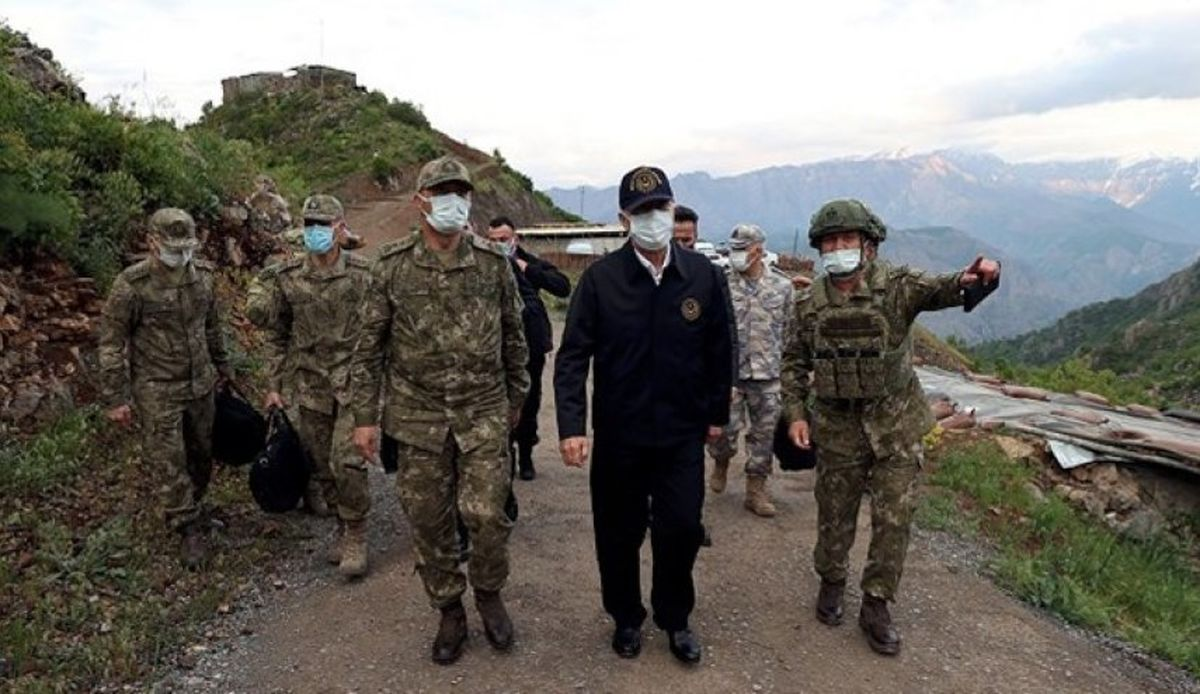 نخستین واکنش کُردی به سفر وزیر دفاع ترکیه به شمال عراق
