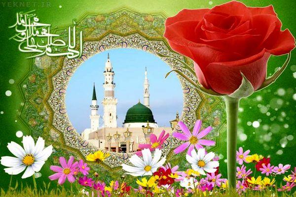 مولودی میلاد پیامبر (ص) و امام صادق (ع)؛حاج محمود کریمی