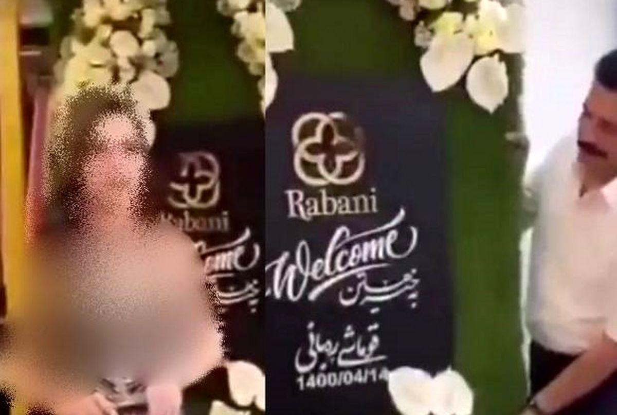 جنجال افتتاحیه غیرمتعارف پارچه فروشی مهاباد / ۵ نفر دستگیر شدند