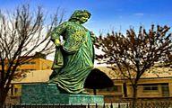 تندیس نخستین بانوی مورخ جهان که یک ایرانی است!