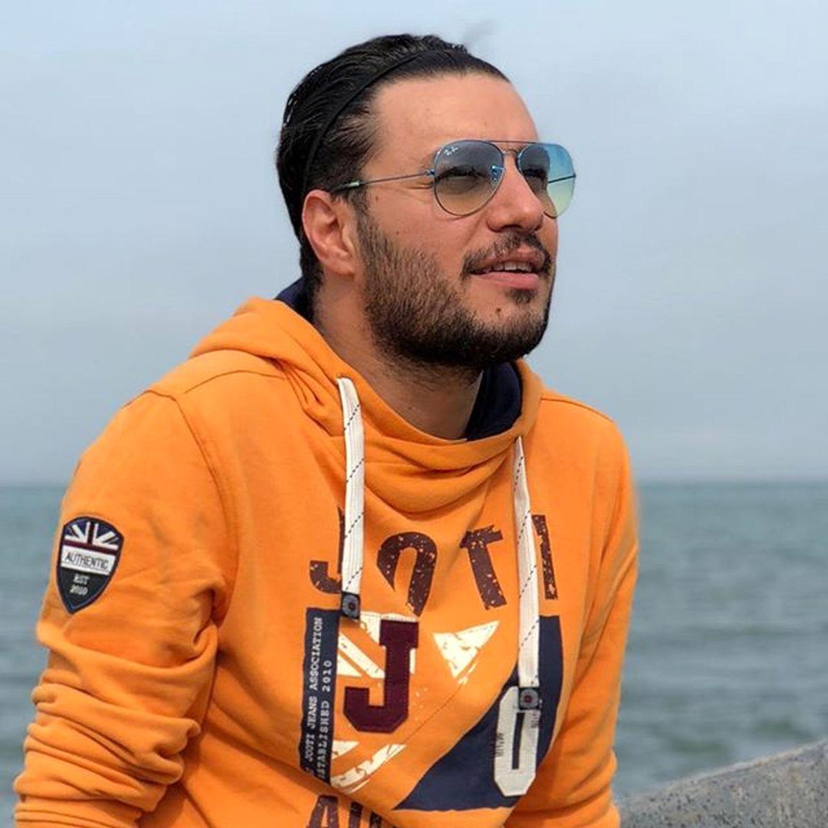 جواد عزتی در کنار بازیگران سریال زخم کاری+ تصاویر دیده نشده جواد عزتی