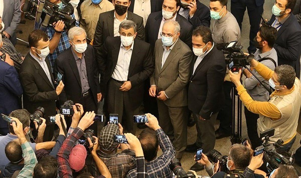 حواشی عجیب سفر پرماجرای احمدینژاد به قزوین + فیلم