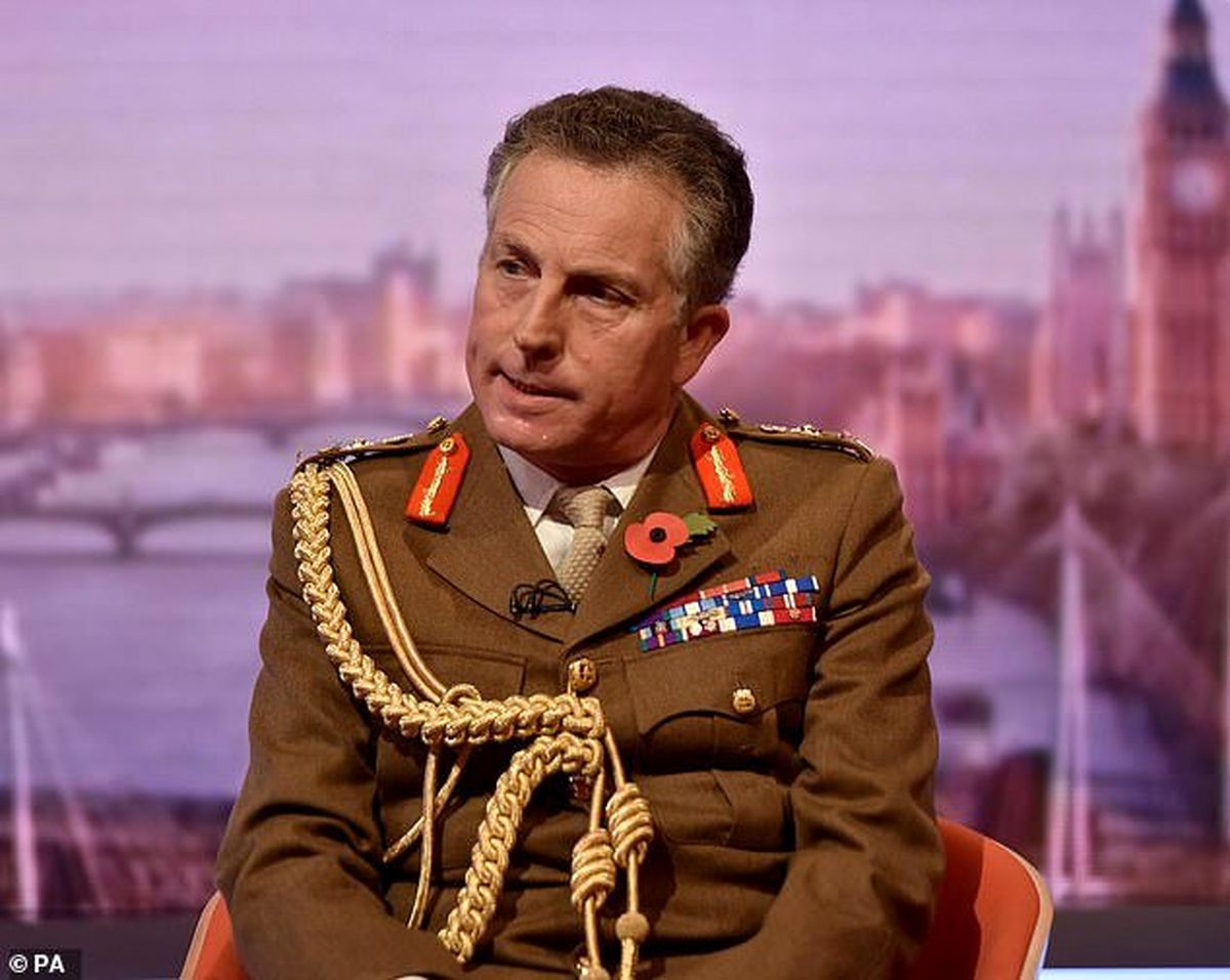اعتراف ژنرال انگلیسی به همکاری با طالبان