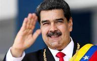 مادورو پیروزی رئیسی را تبریک گفت