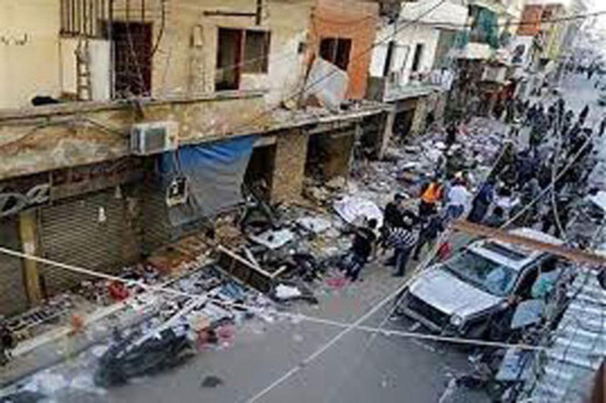 انفجار مرگبار در منطقه برج البراجنه بیروت