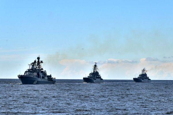 روسیه و هند رزمایش مشترک دریایی در دریای بالتیک برگزار کردند