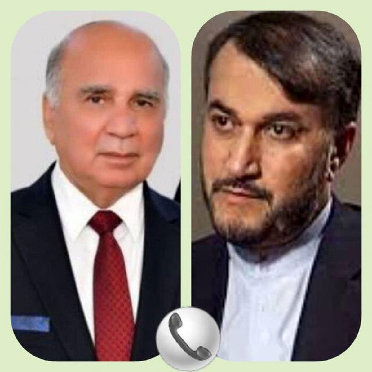 امیرعبداللهیان: حمایت از عراق از جمله سیاستهای همیشگی تهران است