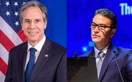 ایران موضوع دیدار بلینکن و رییس موساد