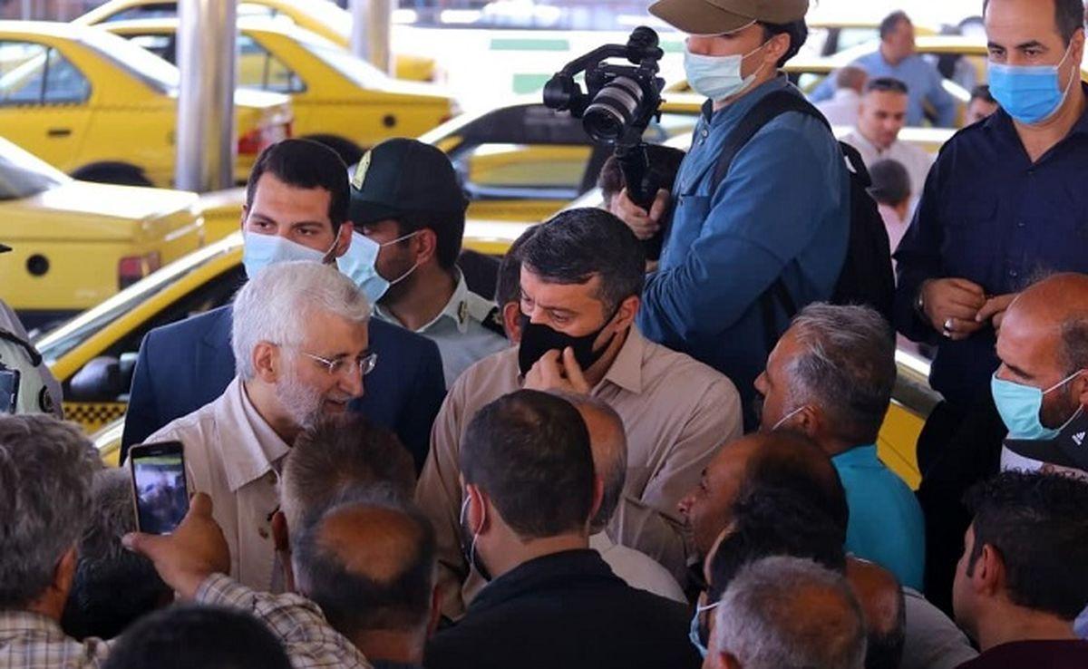 موضع جلیلی درباره راننده تاکسیها