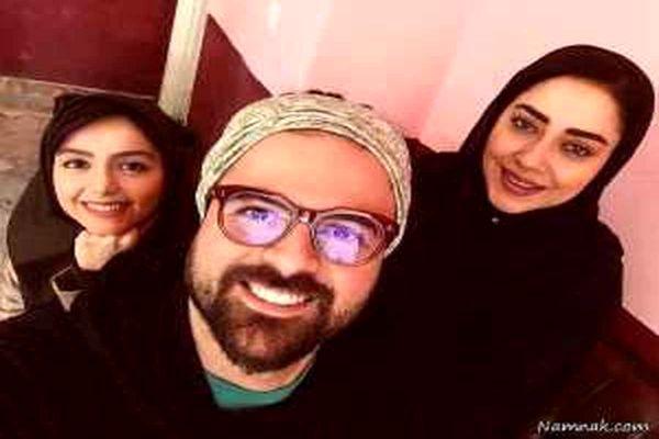 عکس همسر جدید هومن سیدی | او زیباتر است یا آزاده صمدی ؟ + عکس