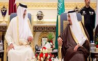 دعوت پادشاه سعودی از امیر قطر / عکس
