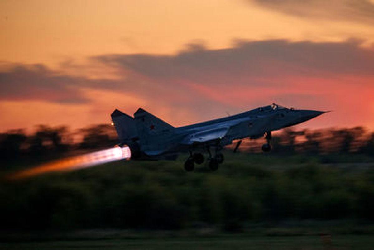جنگندههای روسی، بر فزار آسمان+عکسها