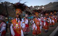 تصاویری از جشن مذهبی «برف و ستاره» در پرو