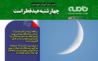 فتوتیتر/ چهارشنبه عید فطر است