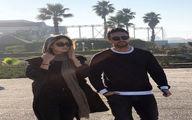 عکس / شاهرخ استخری و همسرش
