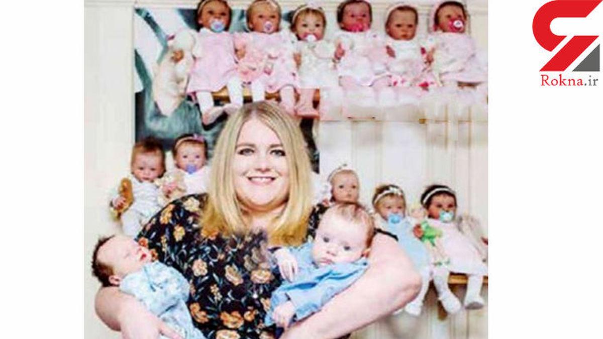 عروسکی که زن جوان نازا را باردار کرد! +عکس