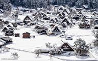 خانههایی زیبا در دل کوه/ تصاویر