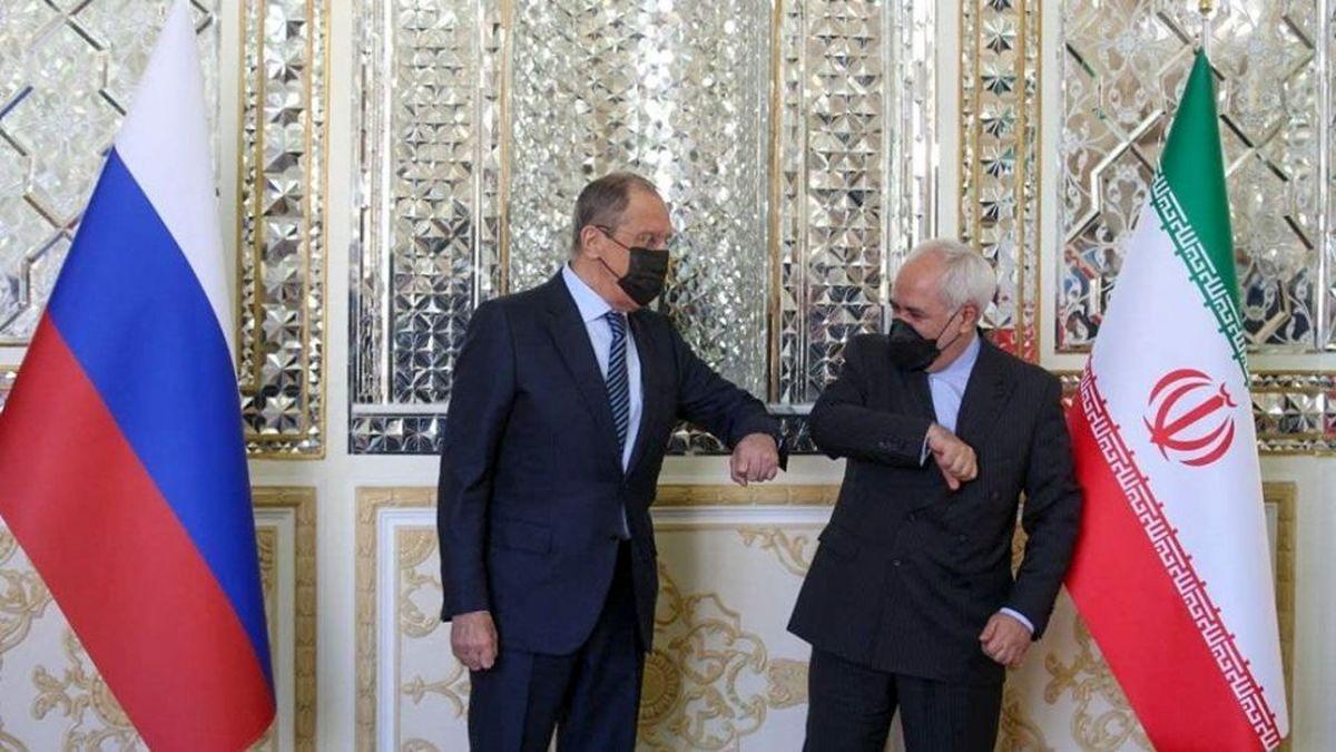 تصاویری جدید از دیدار وزیر امور خارجه روسیه با ظریف