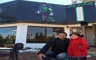 احمدرضا عابدزاده و رستورانش در متل قو/ عکس