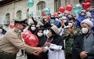 تقدیر ارتش از مدافعان سلامت + عکس